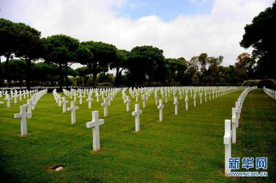 (国际)(3)二战记忆:探访西西里――罗马美军纪念公墓