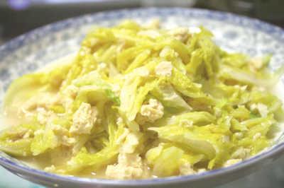 """白菜乃""""菜中之王"""" 一棵白菜可做出三样"""