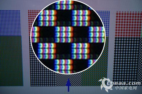单反或微单拍摄的照片可以清晰地显示像素结构