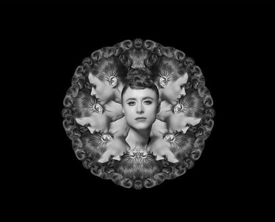 艺术家借助黑白照巧思展现人体艺术