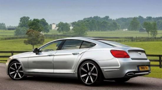 搭载w12发动机 宾利新入门级轿跑效果图图片