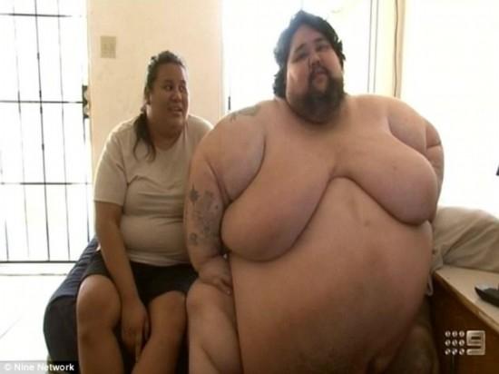 吃货的悲哀!世界最胖男子体重800斤难控食欲丧命