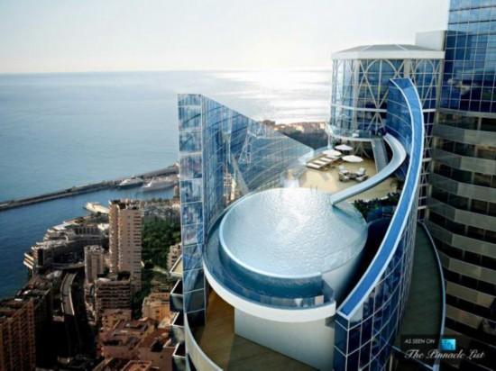 世界最贵公寓图片曝光 泳池自带水滑梯