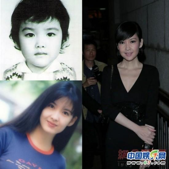 """因为长得漂亮,小时候,街坊邻居都叫黄晓明""""小明星""""."""