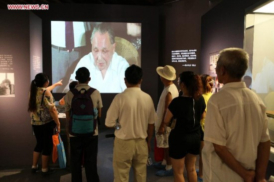 Tourists visit Deng Xiaoping Memorial Hall in SW China