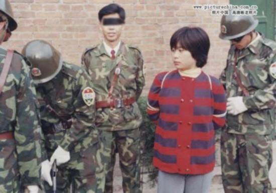 揭秘 中国近三十年来美女死囚枪决现场照大曝光