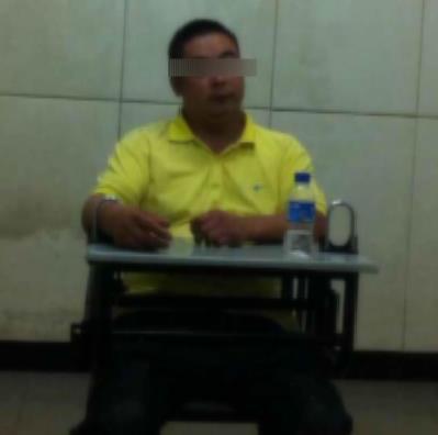 重庆上错车女孩遇害案犯罪嫌疑人蒲某。(图片来源:重庆网络广播电视台视频截图)