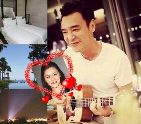 61岁钟镇涛娶小19岁娇妻 掷百万办海岛婚礼