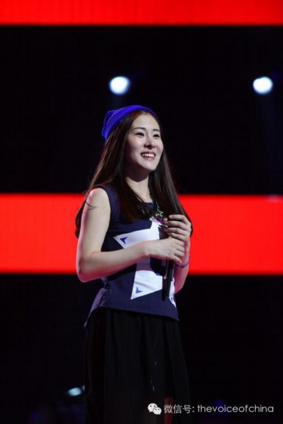 《中国好声音》第三季美女学员背景大调查:张