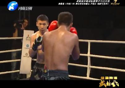 武林风最新一期比赛 环球拳王争霸赛 迎战自由搏击国家队图片