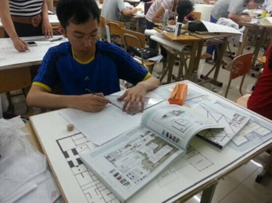 建筑快题 华元手绘 景观快题 北京手绘