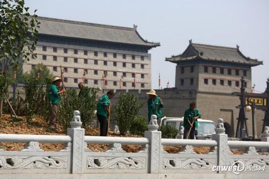新中式建筑围挡