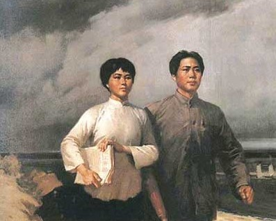 毛泽东第一次写情诗虞美人送给妻子杨开慧