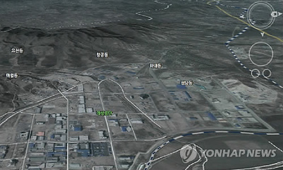 资料图:韩国国土部免费提供朝鲜三维地图资料.-韩国网站将提供朝