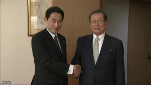 日本外相会晤韩国新驻日大使两国关系前景难明