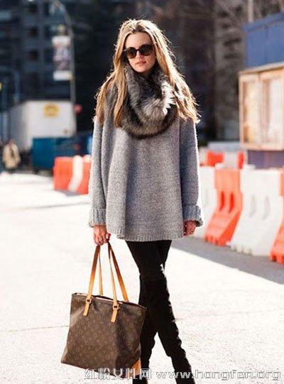 皮草单品大牌范儿穿搭术 保暖时尚出街必备
