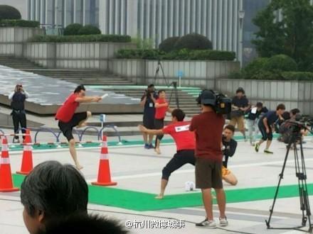 杭州/中国版Running Man《奔跑吧兄弟》正式录制,第一站地点定在...