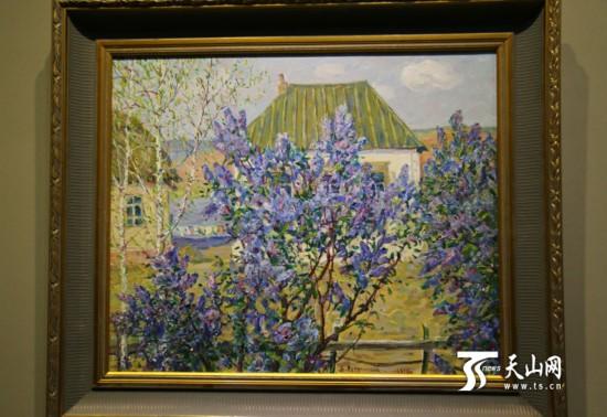 亚欧博览会中外文化展示周:《俄罗斯美术作品收藏展图片