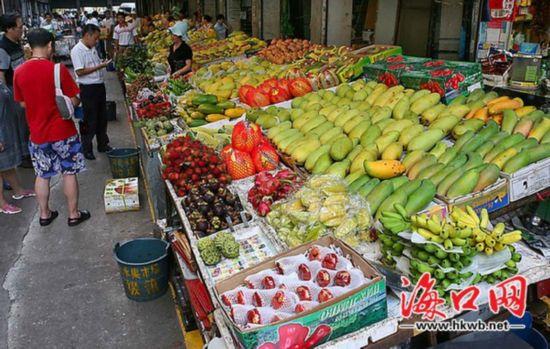 布局不合理 海口南北蔬菜市场或搬至石塔村