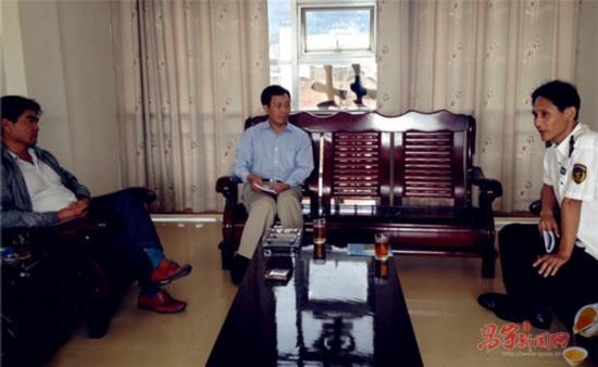 保山市委常委、副市长刘朋建到昌宁调研质监工