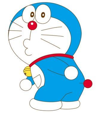 哆啦a梦简笔画-哆啦A梦 98岁生日快乐 回忆童年蓝胖子机器猫