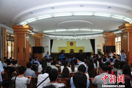 廣東茂名開審23人涉黑案曾當街槍擊兩名政協委員