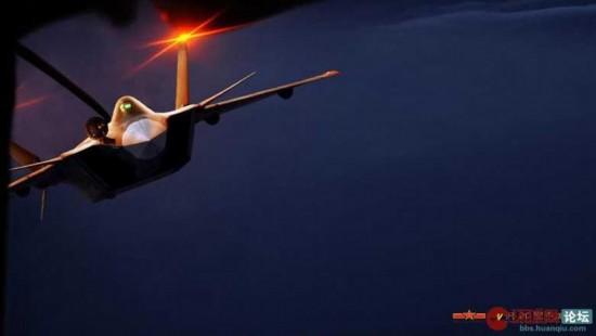 """中国空军神秘武器""""黑丝带""""令世界目瞪口呆"""