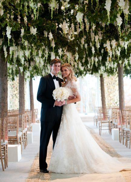 Ivanka Trump and Jared Kushner's wedding, one of the 'Top 10 most lavish weddings' by China.org.cn.