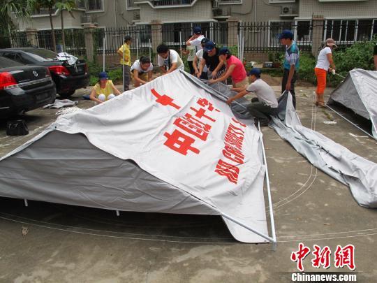 福建省红十字会强化赈济救援能力建设