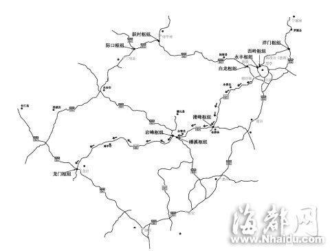 我省各地市高速路线图
