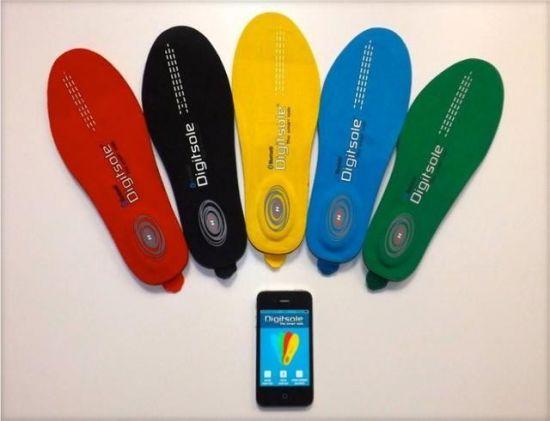 智能鞋垫 能用手机随意调节鞋垫的温度