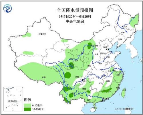 未来3天西北地区东部等有降雨 陕西等地暴雨