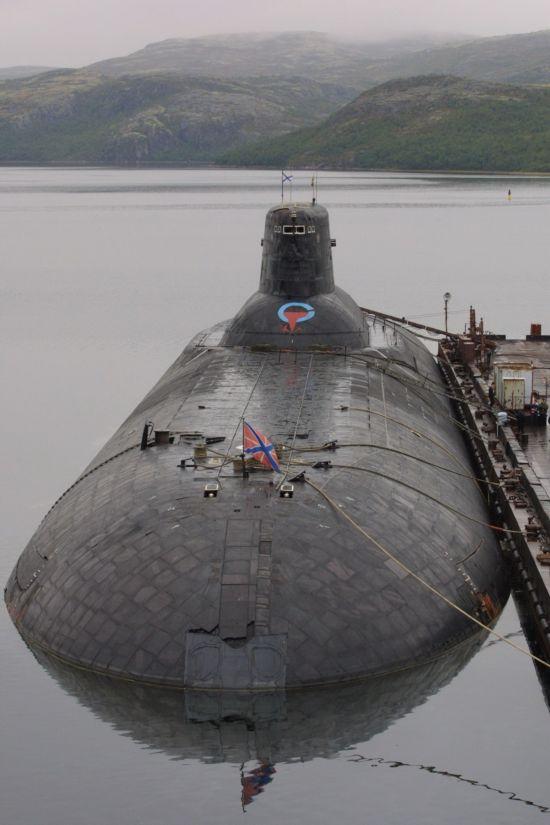 各国战略核潜艇排行:台风潜艇曾是欧美噩梦【