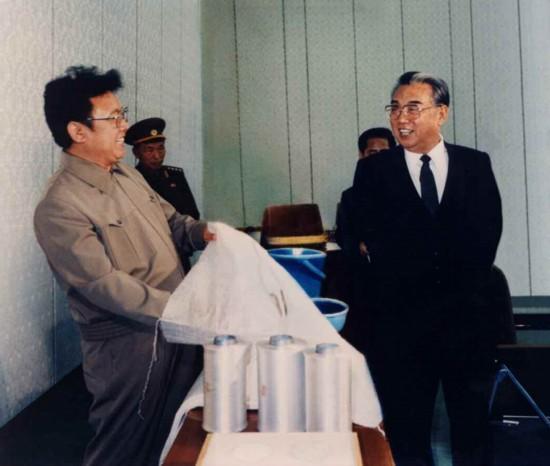 朝鲜官媒刊登金日成和金正日照片纪念建国66周年【9】