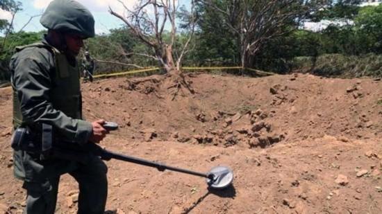 尼加拉瓜首都遭到陨石冲击 现直径12米大坑