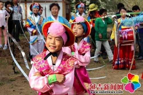 2014年中国朝鲜族秋夕民俗节开幕