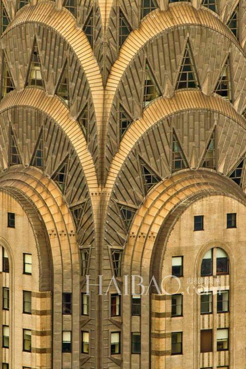 美国克莱斯勒大厦 chrysler building 近景高清图片