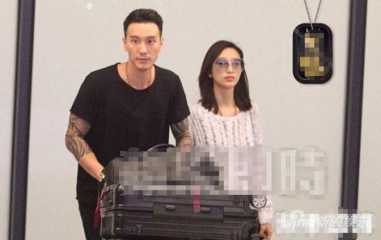 张俪王阳明甜蜜同行 台湾第一帅哥被套牢