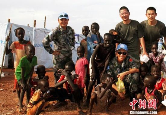 记中国赴南苏丹维和部队:为了战乱中的难民