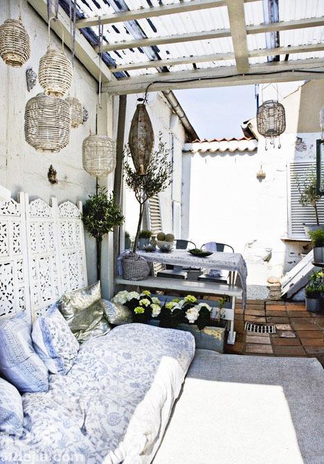 摩洛哥风格花园 18图在家体验度假风【9】--安徽频道--人民网