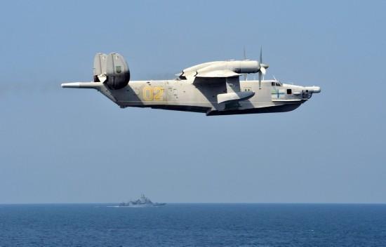 乌军排除水上飞机与美军宙斯盾舰联合作战【组图】