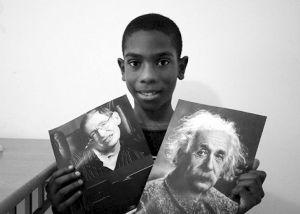 絕沒見過的奇聞異事:11歲男童智商超愛因斯坦