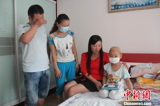 荆门6龄童罹患白血病贫寒家庭求助社会献爱心(图)