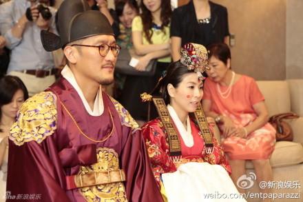 39岁许茹芸韩国大婚似韩剧 杨采妮李心洁出席