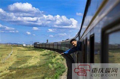 重庆男生坐21天火车去德上大学