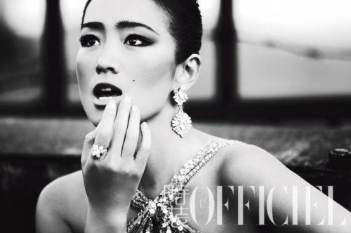 鞏俐周迅范冰冰章子怡中國女星最標致的美人臉
