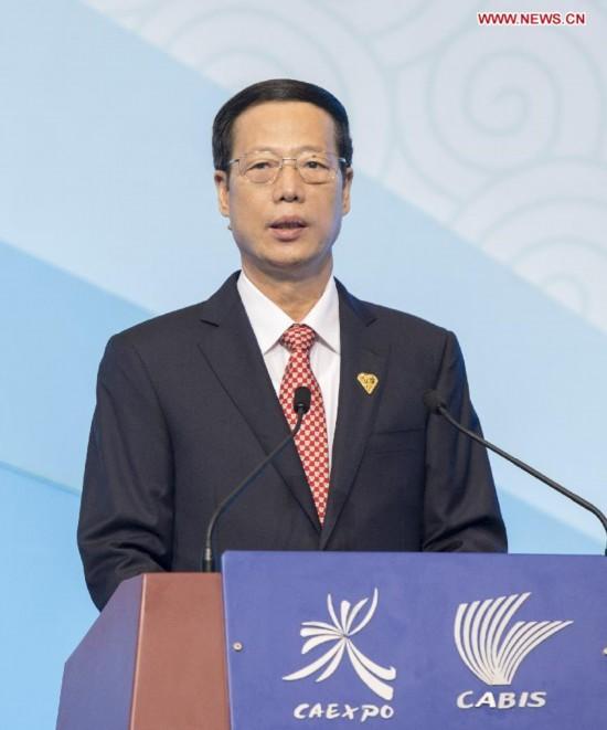 CHINA-NANNING-ZHANG GAOLI-CAEXPO (CN)