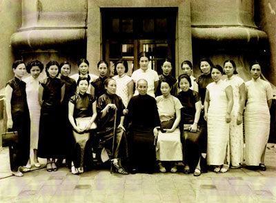 揭秘旧中国四大美女匪首 匪窝被端掉后当妓女