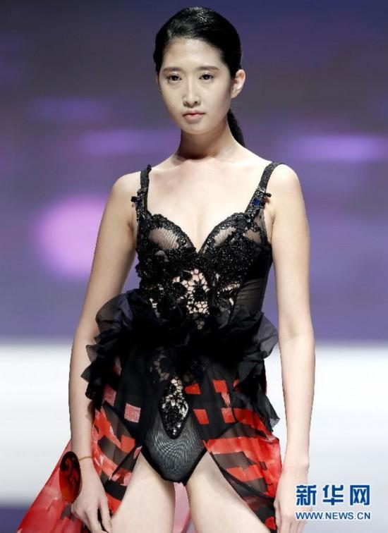 中国职业模特大赛 性感美女透视装走秀高清组
