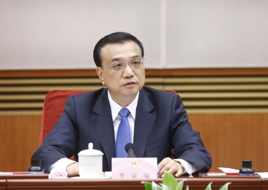 李克强总理主持召开国务院常务会议